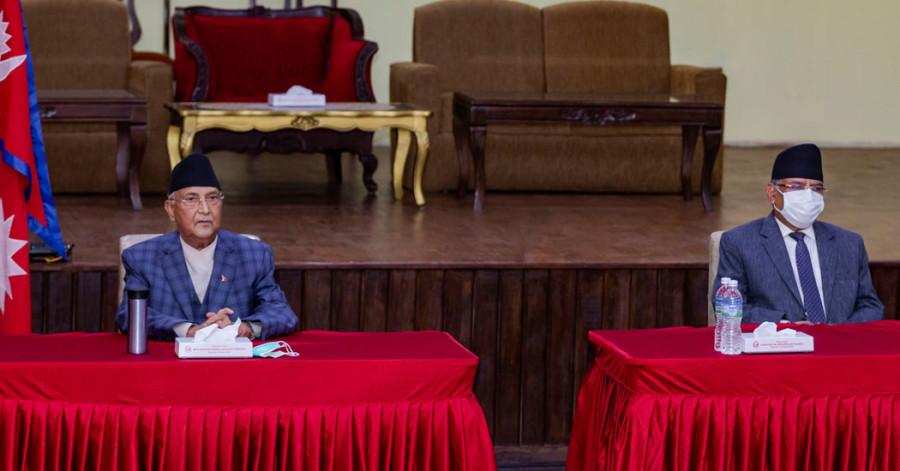 नेकपा सचिवालय बैठक : फुरुंग वामदेवलाई संविधान बाधक